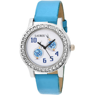 Laurex Analog Round Casual Wear Watches for Girl lx-135
