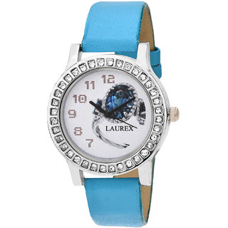 Laurex Analog Round Casual Wear Watches for Girl-lx-136