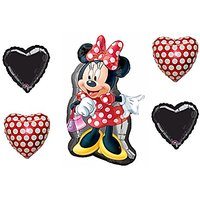 "Disney Bouquet Of Minnie Mouse Full Body Shape 32"" Myla"