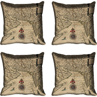 meSleep Ethnic Digitally Printed Cushion Cover (20x20)