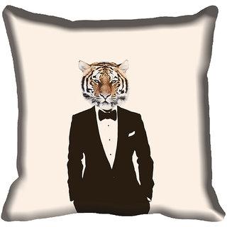 meSleep Abstract Digitally Printed Cushion Cover (20x20)