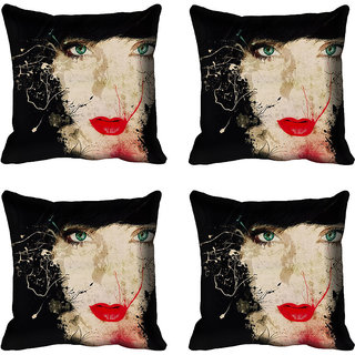 meSleep Girl Digital printed Cushion Cover (20x20)