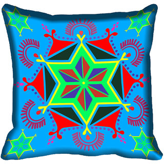 meSleep Star Design Digital Printed Cushion Cover 20x20