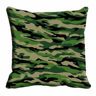 meSleep 3D Green Cushion Cover (18x18)
