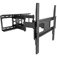 Curved  Flat Panel TV Wall Mount 50 inch Tilt / Swivel, VESA Bracket