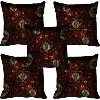 meSleep Abstract Digital printed Cushion Cover (20x20)
