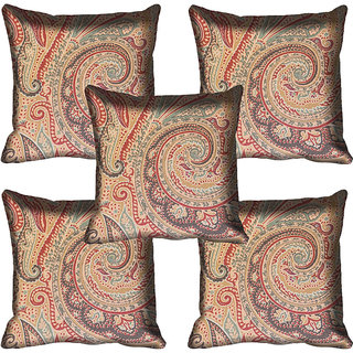 meSleep Ethnic Digitally Printed Cushion Cover (20x20)