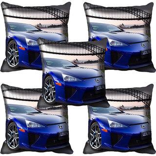 meSleep Car Digitally Printed Cushion Cover (18x18)