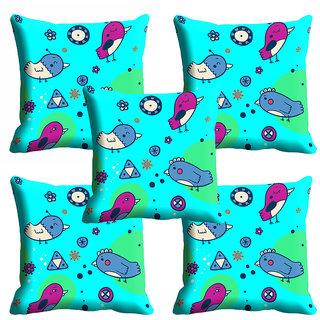 meSleep Bird Nature Cushion Cover (12x12)
