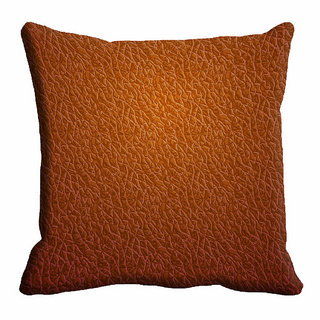 meSleep Brown Abstract Cushion Cover (20x20)