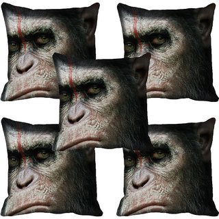 meSleep Abstract Digitally Printed Cushion Cover (12x12)