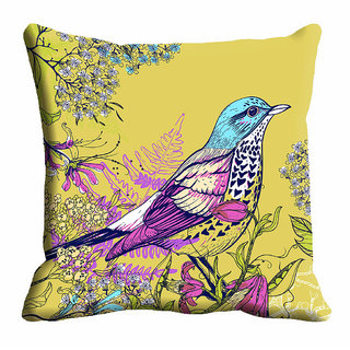 meSleep Abstract Bird Cushion Cover (20x20)