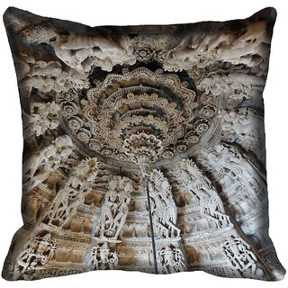meSleep Nature Digitally Printed Cushion Cover (20x20)