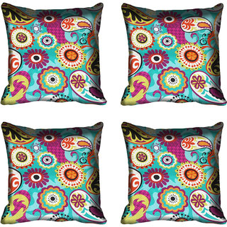 meSleep Abstract Digitally Printed Cushion Cover (12x12)