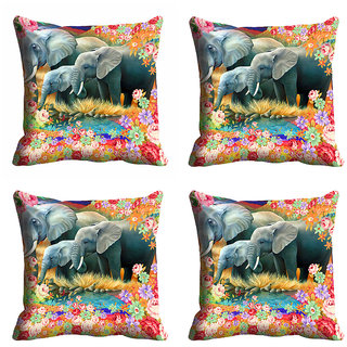 meSleep 3D Nature Cushion Cover (20x20)