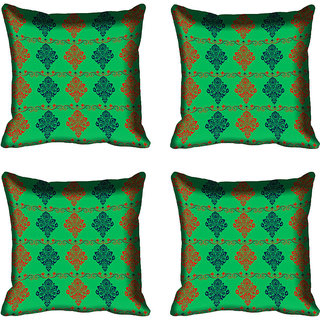 meSleep Ethnic Digital Printed Cushion Cover 12x12