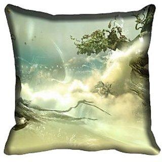 meSleep Nature Digital printed Cushion Cover (18x18)
