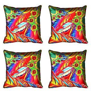 meSleep Ethnic Digital Printed Cushion Cover 20x20
