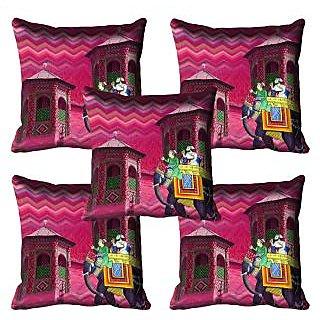 meSleep Elephant Digital Printed Cushion Cover 20x20