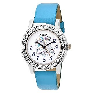 Laurex Analog Round Casual Wear Watches for Girl-lx-140