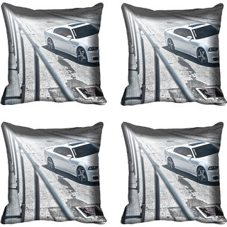 meSleep Car Digitally Printed Cushion Cover (12x12)