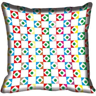 meSleep Geometric Digital Printed Cushion Cover 18x18