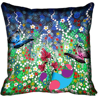 meSleep Nature Digital Printed Cushion Cover 20x20