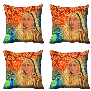 meSleep 3D Rani Cushion Cover (18x18)