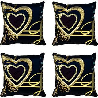 meSleep Heart Digitally Printed Cushion Cover (18x18)