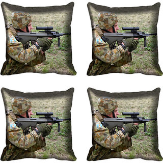 meSleep Soldier Digitally Printed Cushion Cover (20x20)