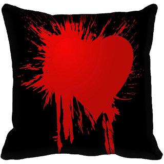 meSleep Heart Digital printed Cushion Cover (20x20)