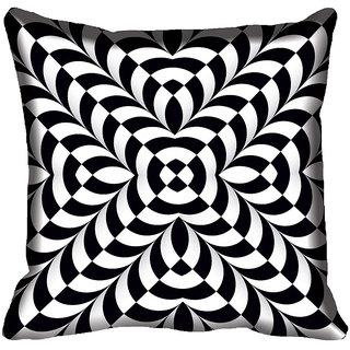 meSleep Geometric Digital Printed Cushion Cover 12x12