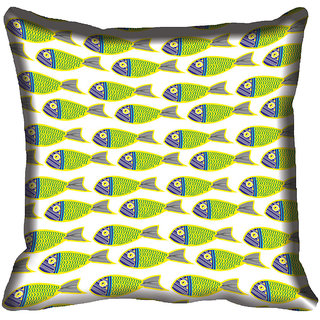 meSleep Fish Digital Printed Cushion Cover 20x20