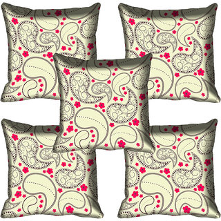 meSleep Abstract Digital Printed Cushion Cover 12x12
