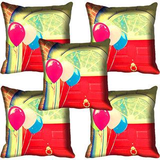 meSleep Abstract Digital Printed Cushion Cover 18x18