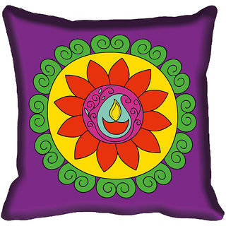 meSleep Beautiful Digital Printed Cushion Cover 20x20