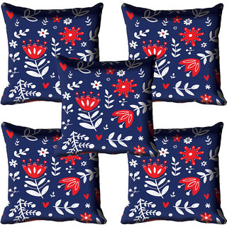 meSleep Ethnic Digitally Printed Cushion Cover (12x12)