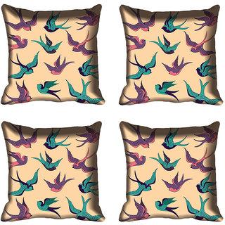 meSleep Birds Digital Printed Cushion Cover (20x20)