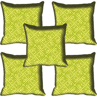 meSleep Ethnic Digital Printed Cushion Cover 18x18