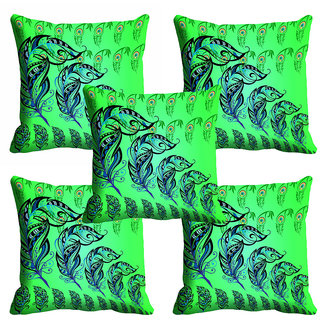 meSleep Green 3D Cushion Cover (20x20)