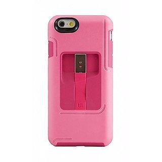 Lifeworks Lightning Jolt: Case w/ Lightning Cable for iPhone 6 (Pink)