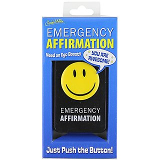 Accoutrements Emergency Affirmation Button