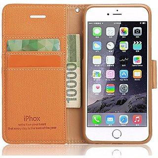 iPhone 6 Plus Case, iPhone 6s Plus Case Souldio Prequim PU Leather Flip Phone Cases Wallet Case for iPhone 6s Plus /iPho