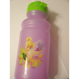 Disney Fairies Tinkerbell 17 oz Sports Bottle (Fairies on Purple)