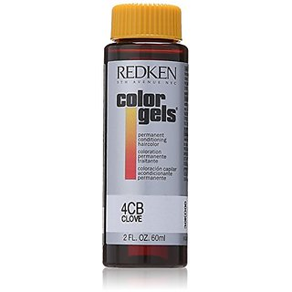 Redken Color Gels Permanent Conditioning 4CB Clove Hair Color for Unisex, 2 Ounce