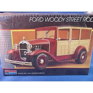 #2749 Monogram Ford Woody Street Rod 1/24 Plastic Model Kit,Needs Assembly