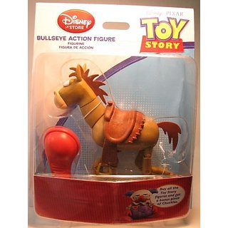 Toy Story Bullseye Action Figure with Build Chuckles Part