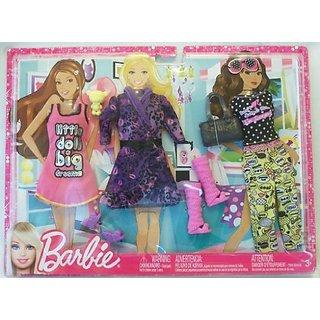 Barbie Fashionistas Big Dreams Sleepwear Fashion Pack