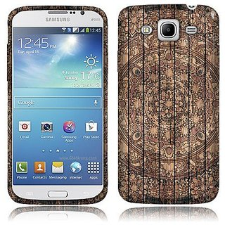 NextKin Samsung Galaxy Mega 5.8 I9152 Flexible Slim Silicone TPU Skin Gel Soft Protector Cover Case - Tropical Mandala W