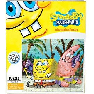 Spongebob Squarepants - Shell Listening 100 Piece Puzzle